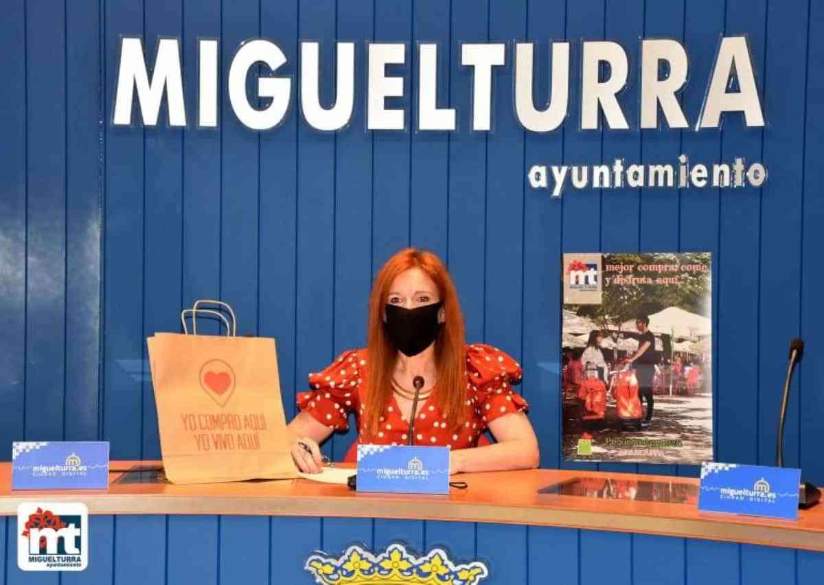 """Campaña """"Mejor compra, come y disfruta aquí"""" para apoyar a comercio y hostelería de Miguelturra"""