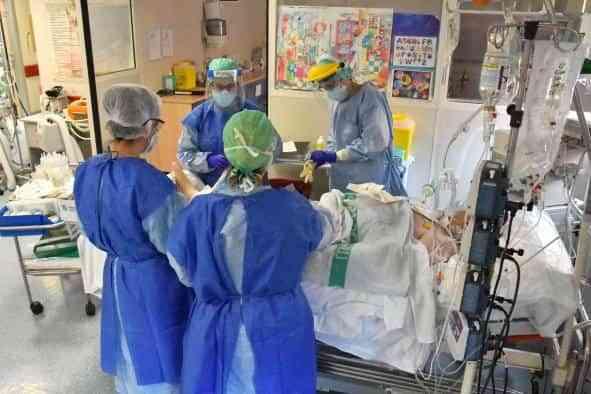 Continúa la reducción de hospitalizados en Castilla-La Mancha, con tres hospitales sin pacientes COVID