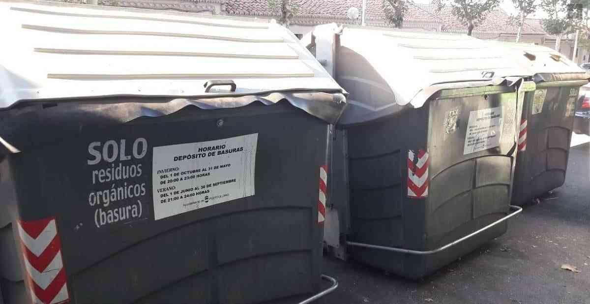En horario de verano la basura domiciliaria podrá depositarse hasta las 12 de la noche en Puertollano