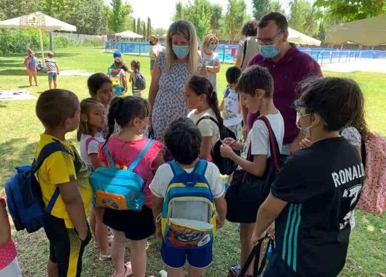 Campamento urbano de Tomelloso ha atendido durante este julio a 70 niños y niñas de entre 4 y 12 años