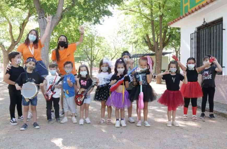 Más de 160 participantes en la primera quincena del Campamento urbano y Pequeverano de Manzanares