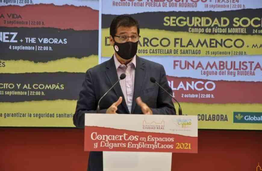Vuelven los «Conciertos en Espacios y Lugares Emblemáticos» de la Diputación de Ciudad Real