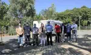 Nueva área para autocaravanas en Fuencaliente en pleno parque natural de Sierra Madrona y Valle de Alcudia
