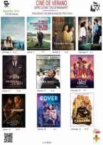 Diez proyecciones de cine de verano en 'Ciega de Manzanares' del 1 al 22 de agosto