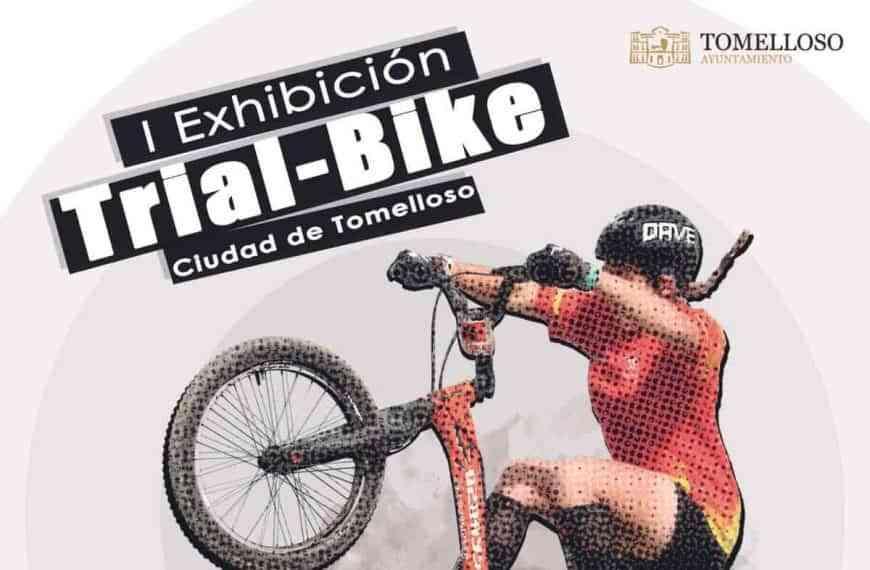 """I Exhibición Trial-Bike """"Ciudad de Tomelloso"""" el sábado 14 de agosto"""