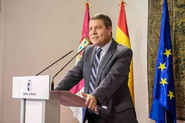 """El presidente García-Page se muestra contundente al aseverar que """"el trazado de la A-43 que defendemos es el que va a ser"""""""