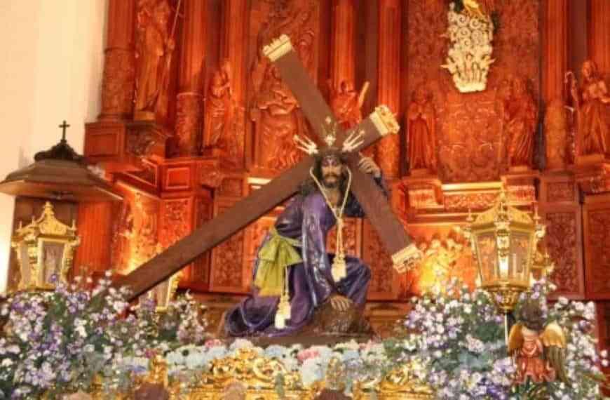 Mañana transmitirá Manzanares 10TV la festividad del patrón, Nuestro Padre Jesús del Perdón