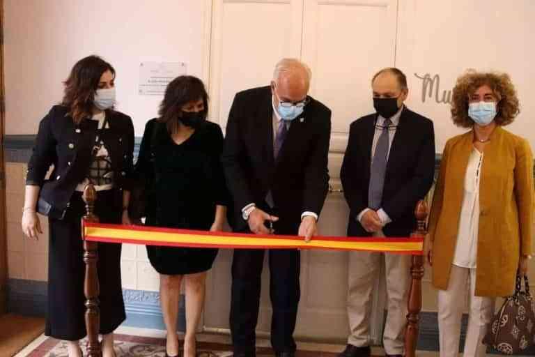 Inaugurado el museo de Historia en plomo 'PlomHist' en Manzanares