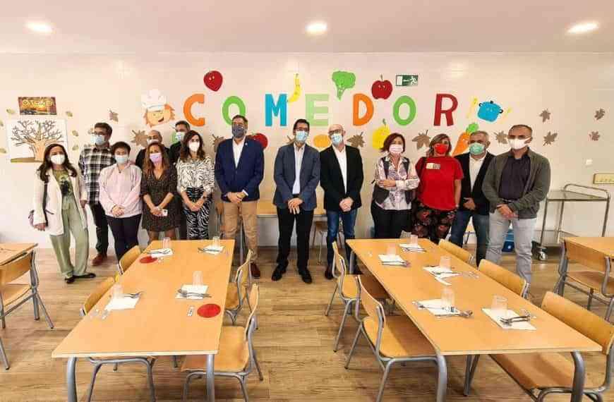 Argamasilla de Alba ya cuenta con comedor para los escolares desde 3 años de E.I. a 6º de E.P.