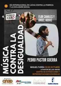 Música por el Día Internacional de Lucha contra la Pobreza y la Exclusión Social este sábado en Miguelturra